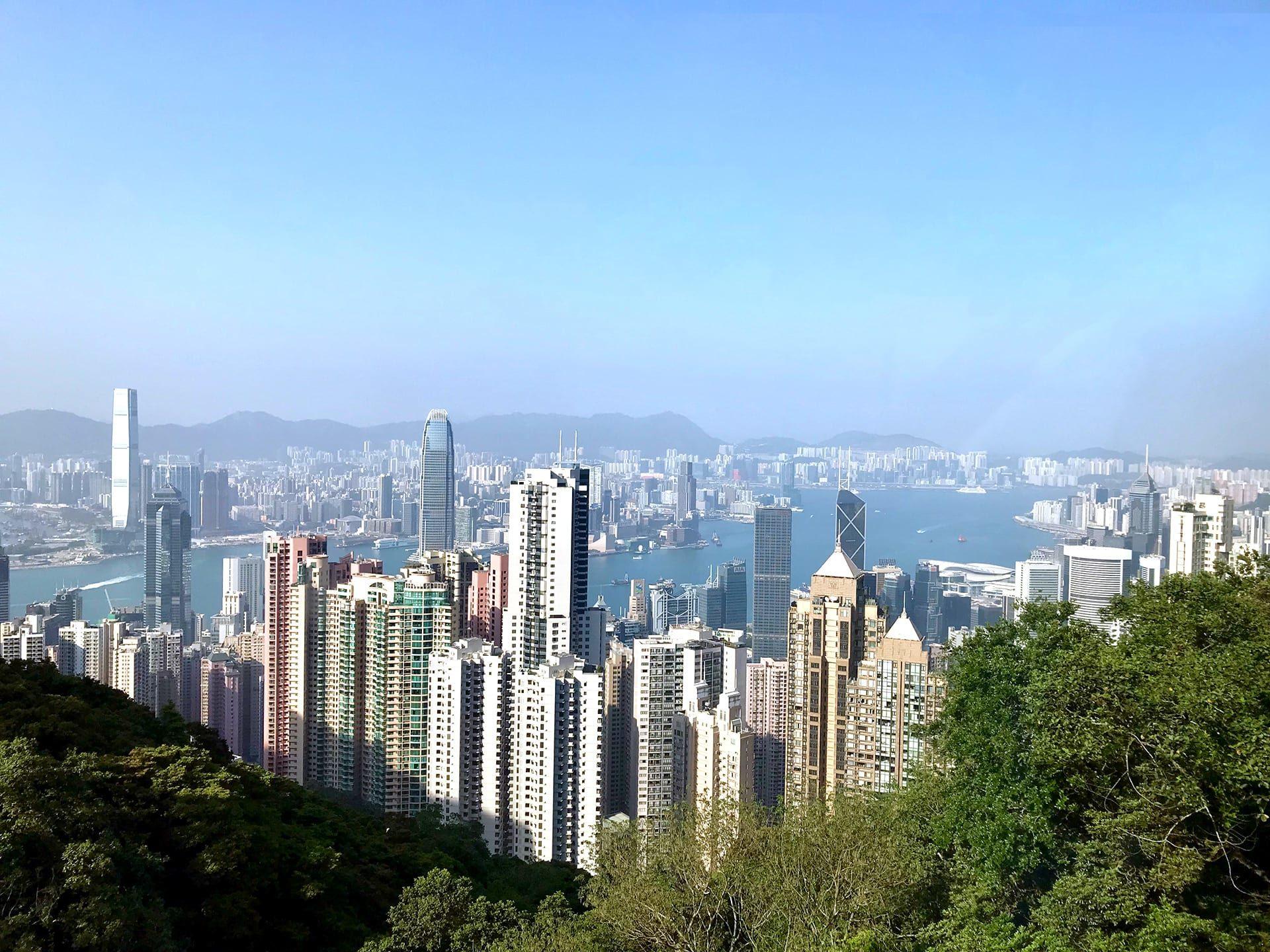 Hongkong Reisetipps: Blick von Victoria Peak