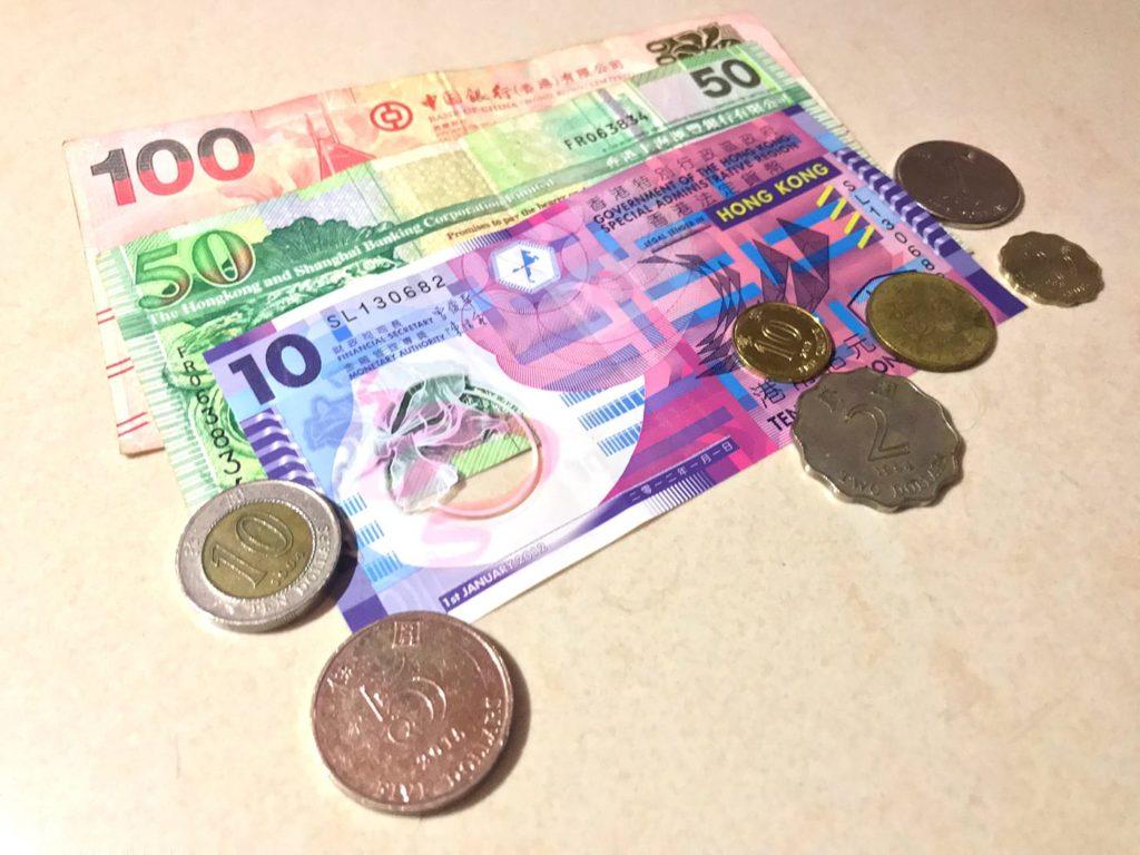 Hongkong Reisetipps: Währung & Geld