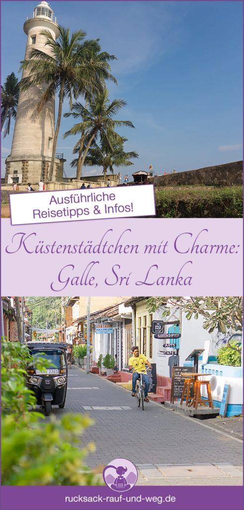 Reisetipps Galle Sri Lanka;