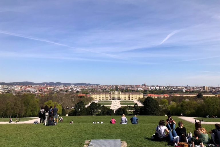 Wien Reisetipps: Aussicht von der Gloriette