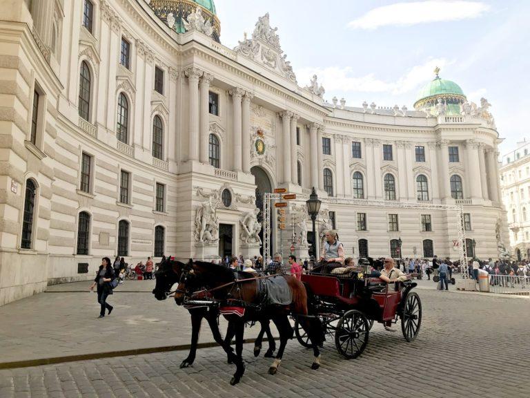 Wien Reisebericht: Michaelerplatz und Hofreitschule