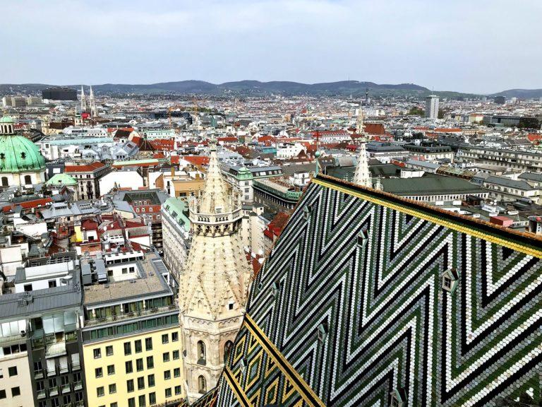 Wien Reisebericht: Blick vom Stephansdom