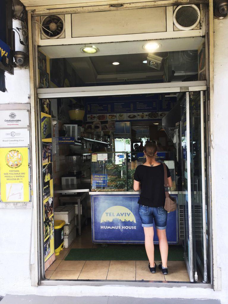 Belgrad Städtetrip: Hummus House Tel Aviv