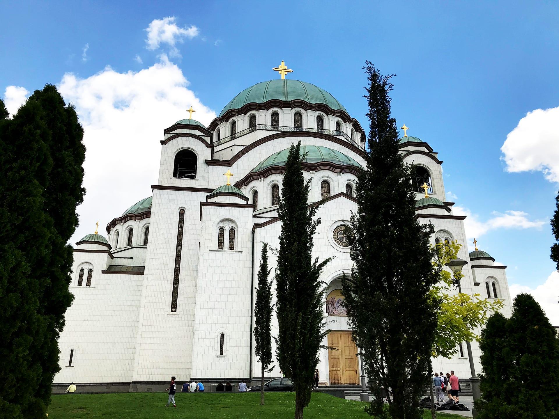 Belgrad Städtetrip Sehenswürdigkeiten Dom des heiligen Sava