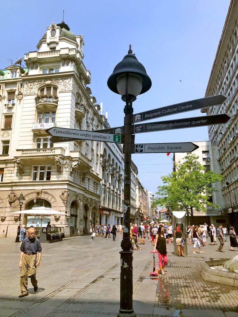 Städtereise Belgrad Reisetipps
