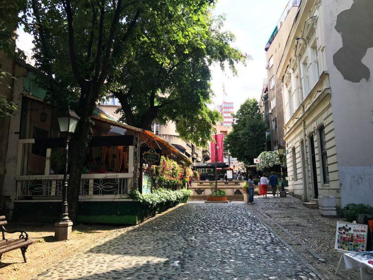 Belgrad Städtetrip Sehenswürdigkeiten Altstadt Skadarlija Viertel