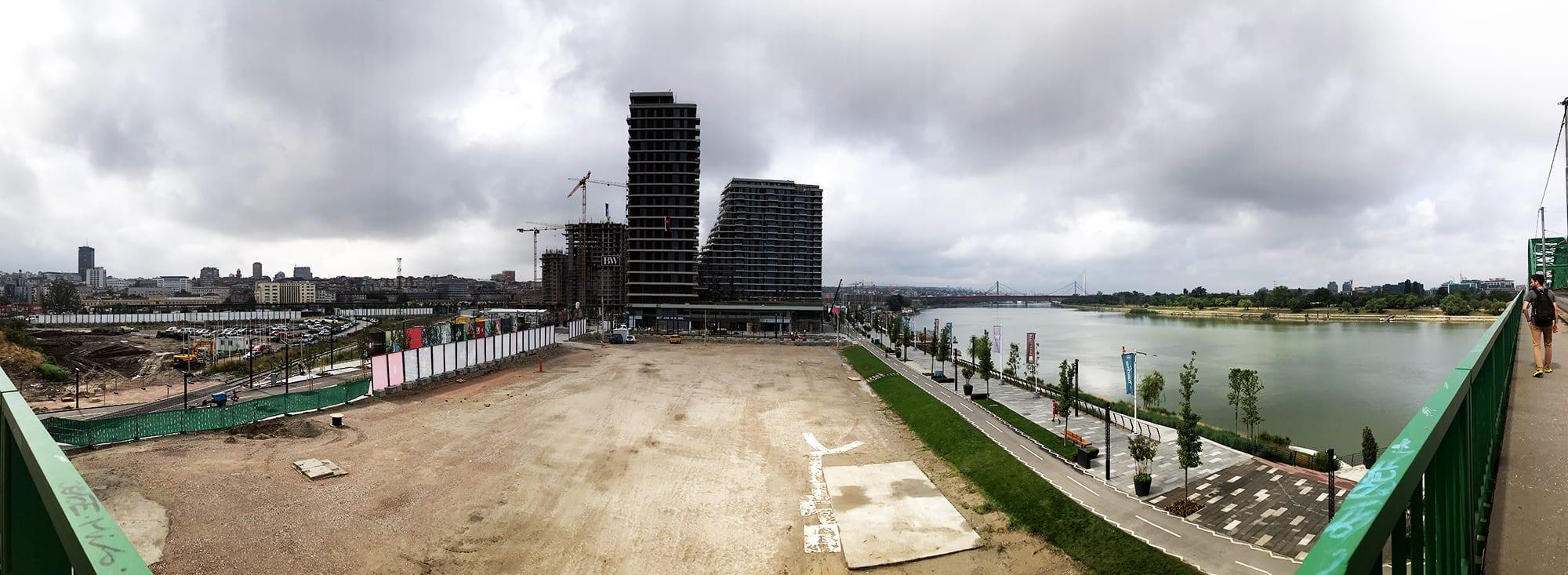 Belgrad Städtetrip Sehenswürdigkeiten Waterfront