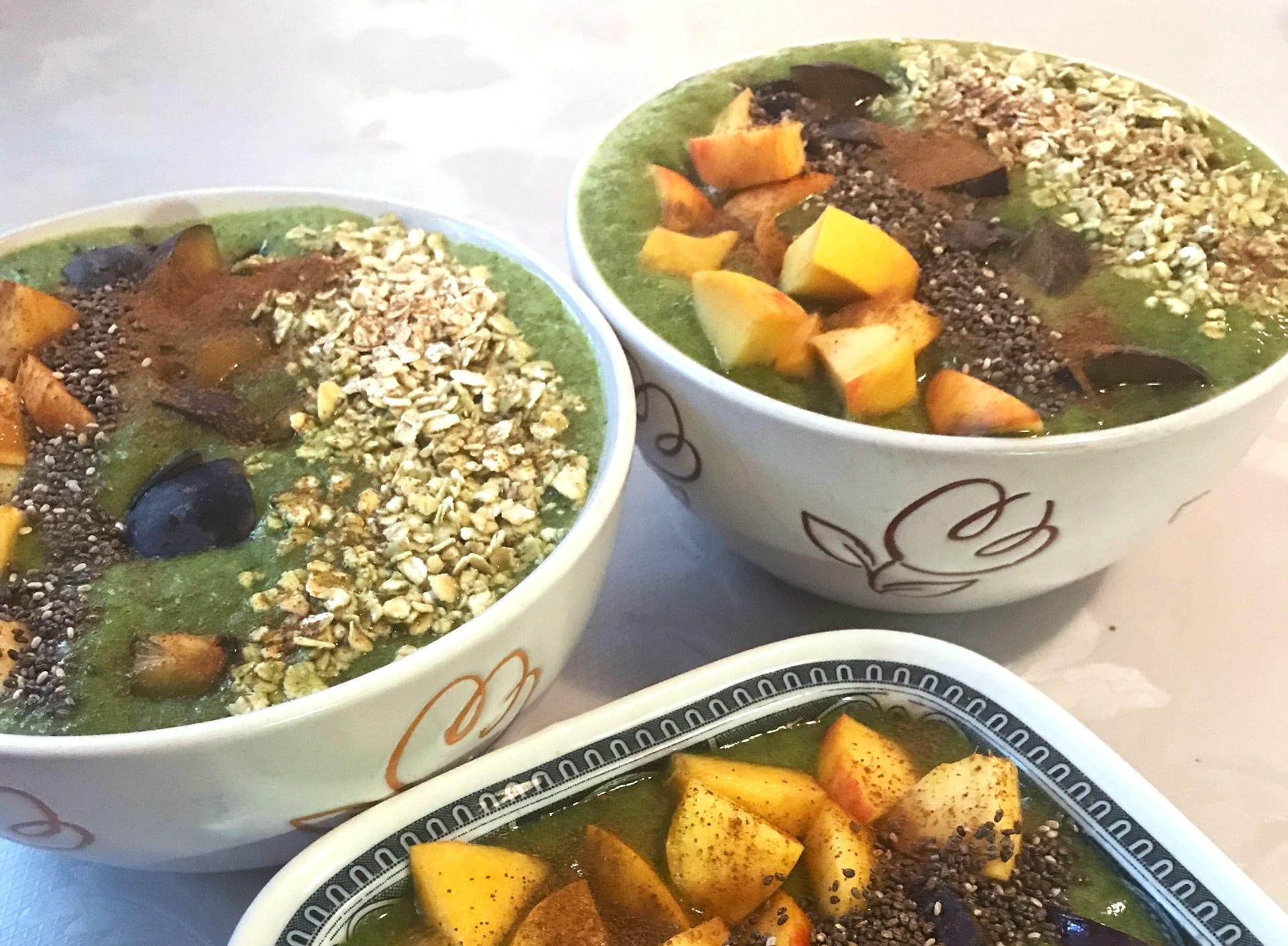 Frühstücksideen schnell, gesund, vegan: Smoothie Bowl