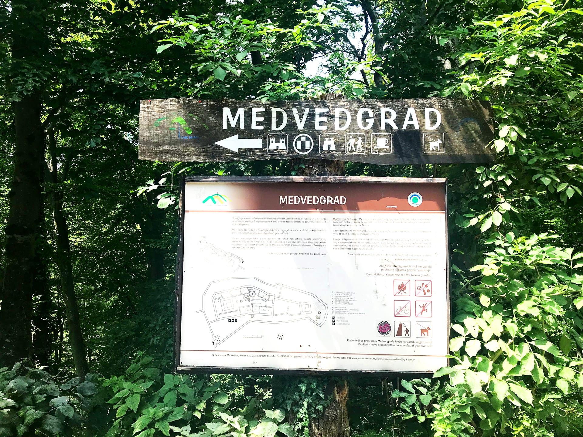 Zagreb Reisetipps; Zagreb Reisebericht; Burg Medvedgrad;
