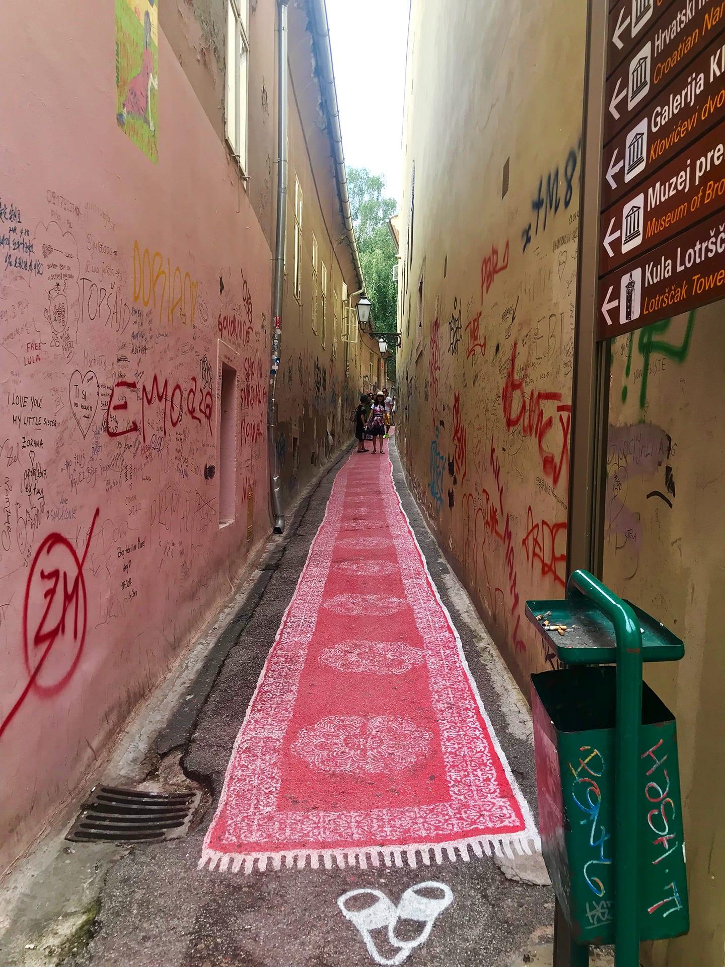 Zagreb Reisetipps; Zagreb Reisebericht; Seitengasse;