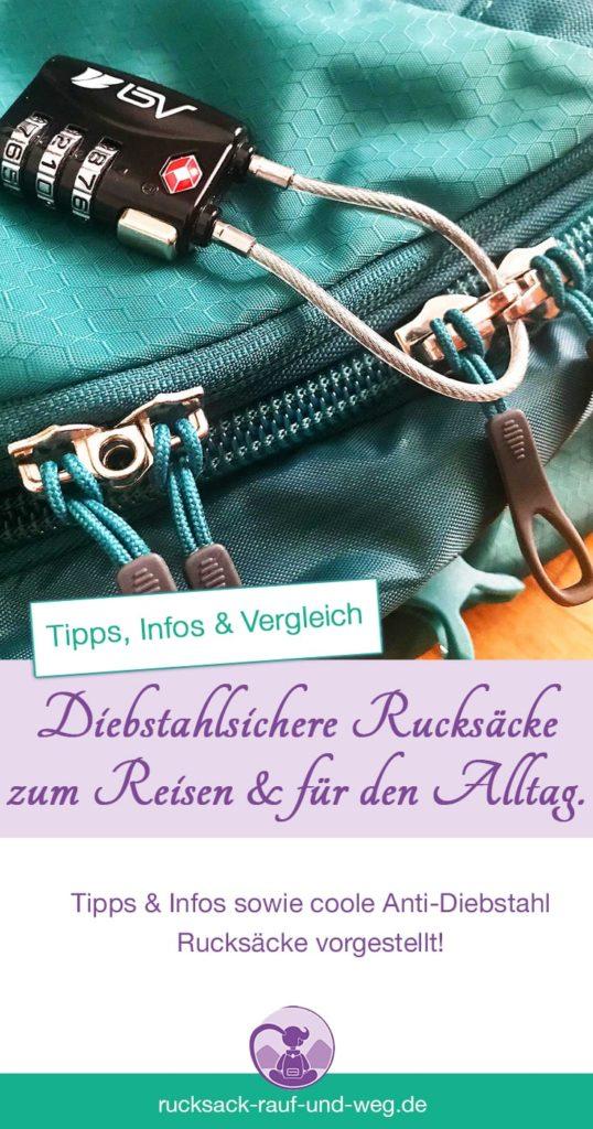 Diebstahlsicherer Rucksack; Anti-Diebstahl Rucksack Test;