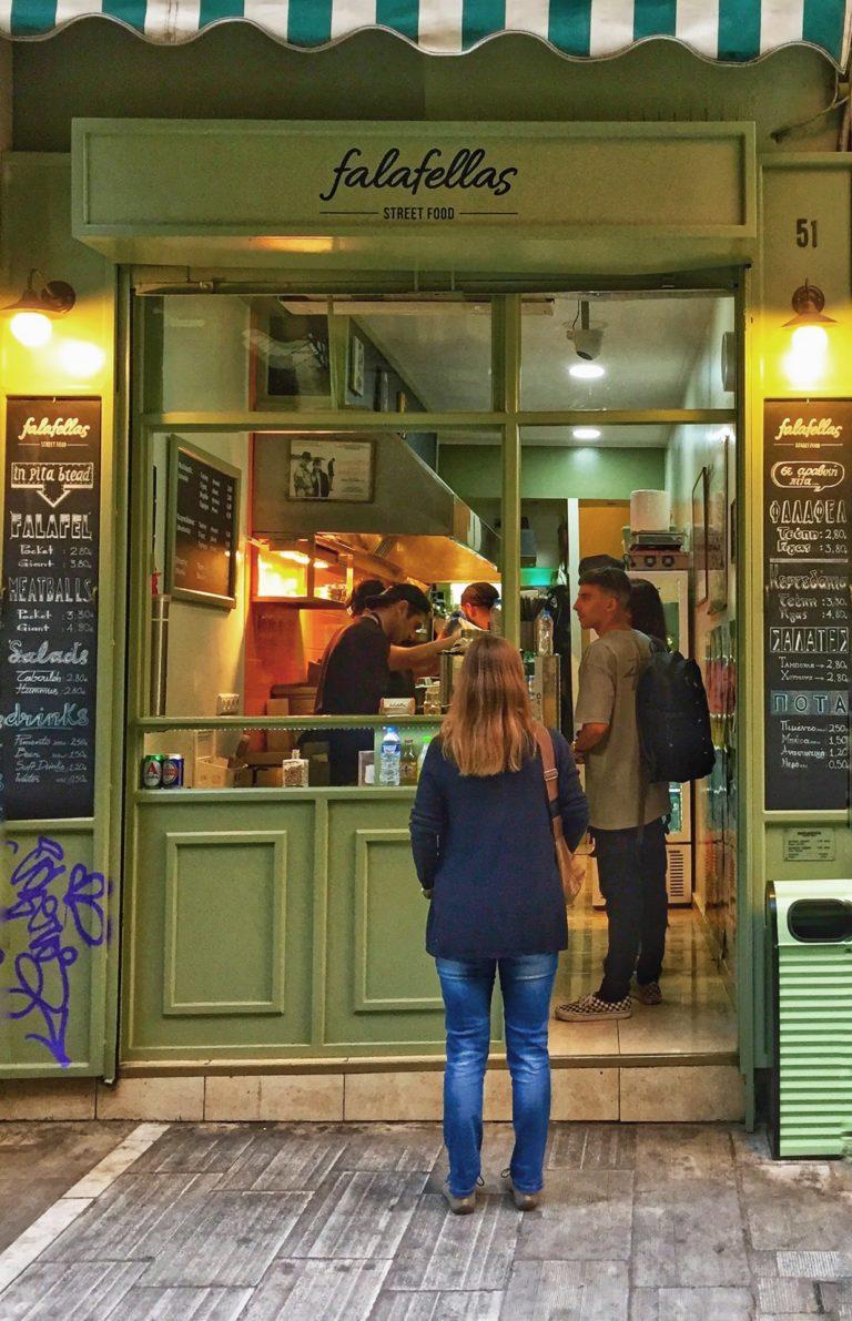 Restaurant Tipp Athen: Falafellas Street Food