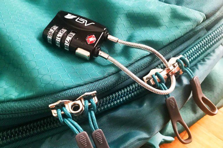 Diebstahlsicherer Rucksack; Rucksack diebstahlsicher machen;