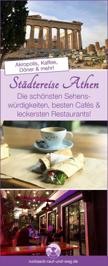 Athen Sehenswürdigkeiten Tipps; Athen Restaurant Tipps; Athen vegan essen;