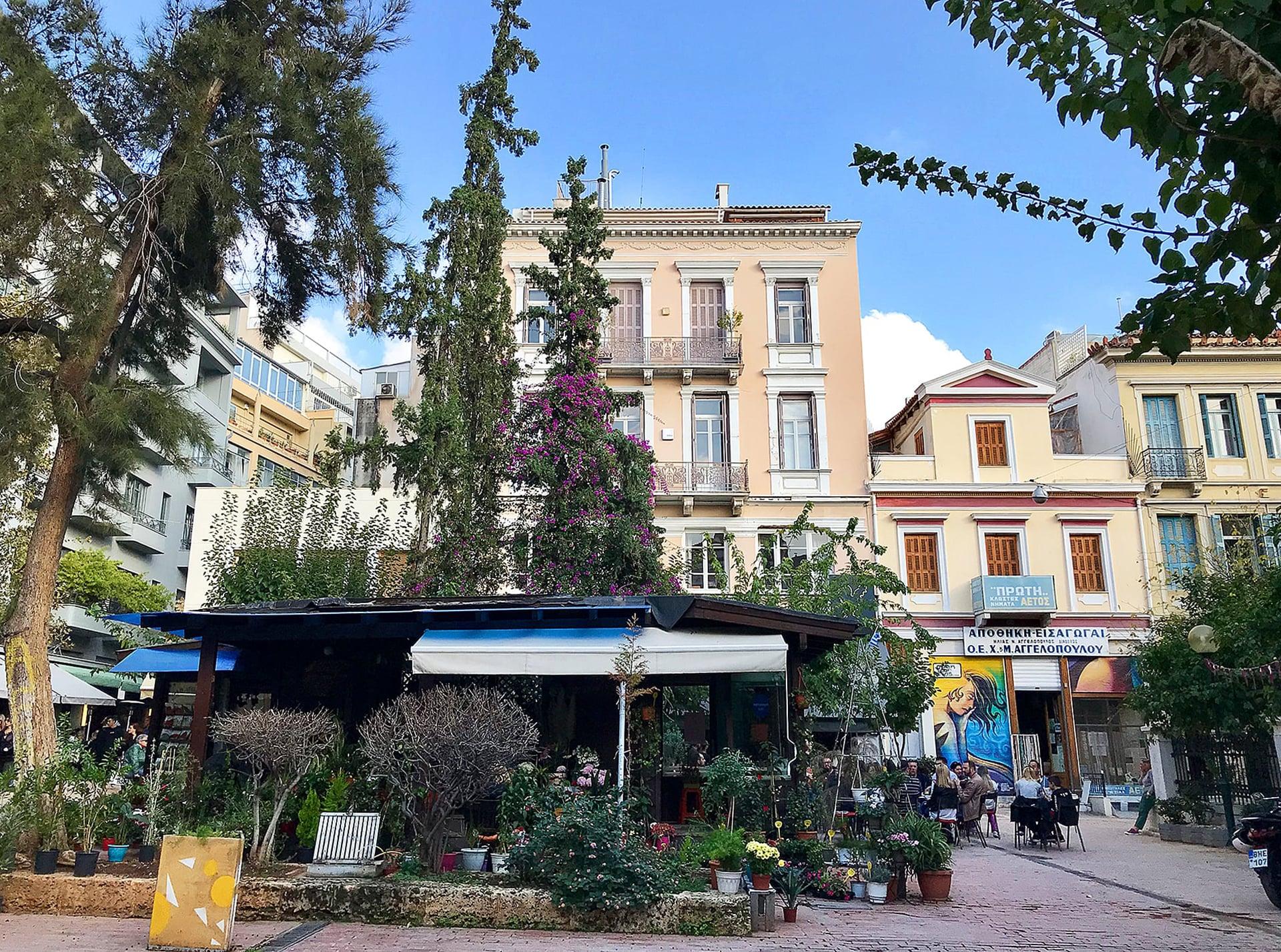 Athen Reisebericht: Innenstadt;