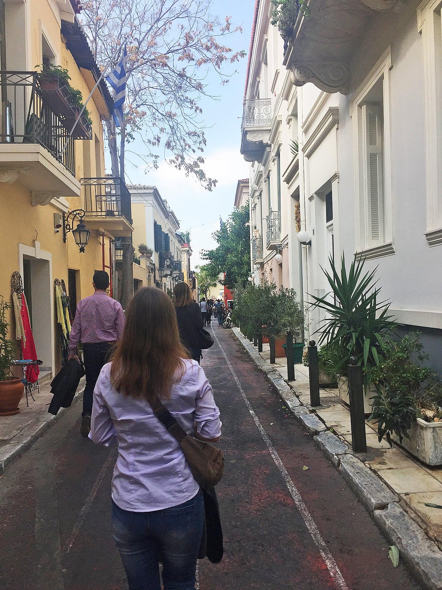 Reisetipps für Athen; Athen Sehenswürdigkeiten Plaka Viertel;