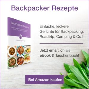 Backpacker Rezepte; Rezeptideen Backpacker;