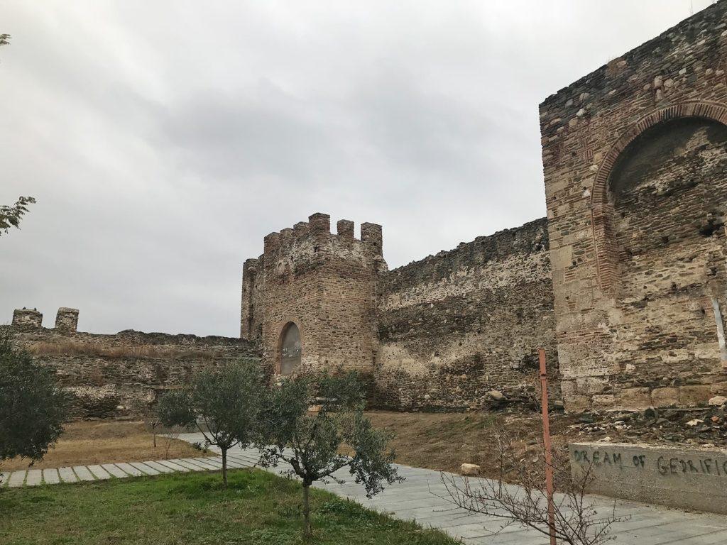 Reisetipps Thessaloniki Stadtmauer