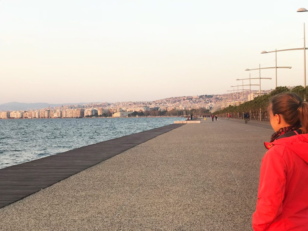 Reisetipps Thessaloniki Promenade