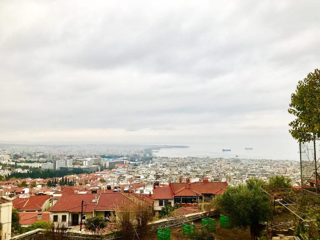 Reisetipps Thessaloniki Kloster und Aussicht
