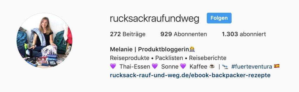 RRUW Instagram User Januar 2019