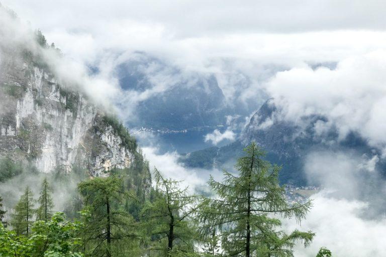 Dachstein Salzkammergut in Oberösterreich.