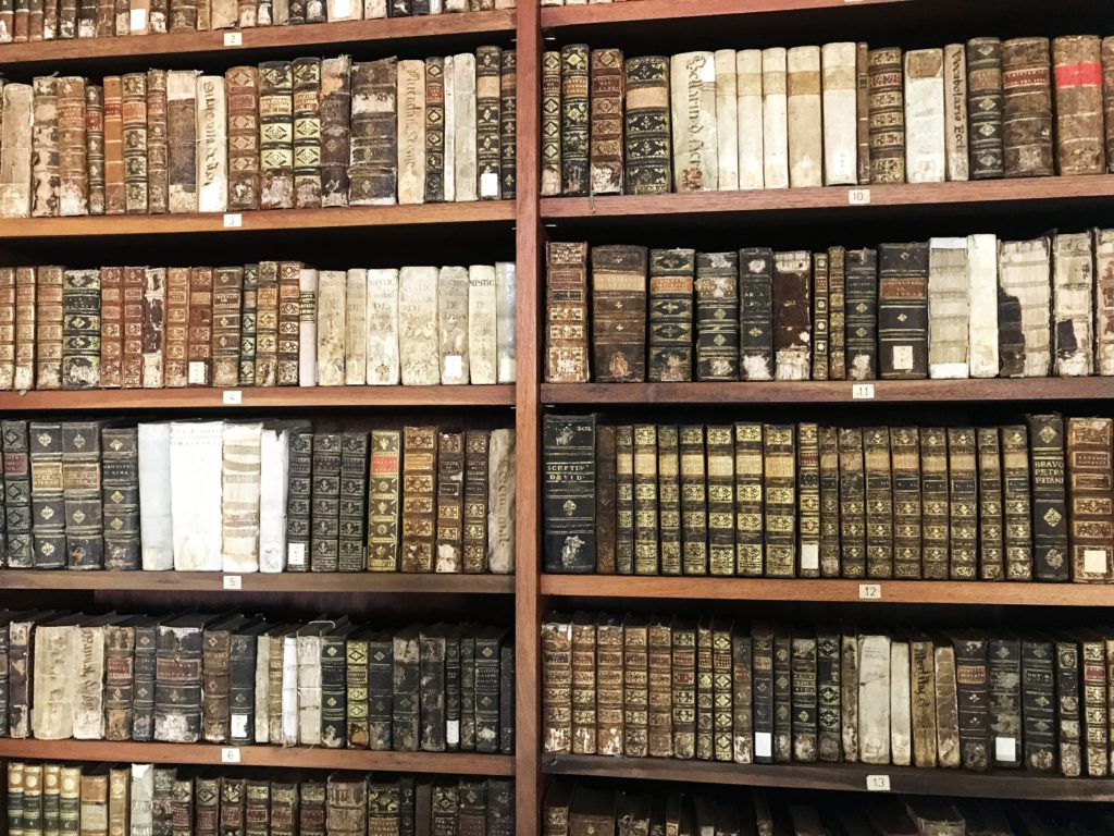 Bibliothek Coimbra.