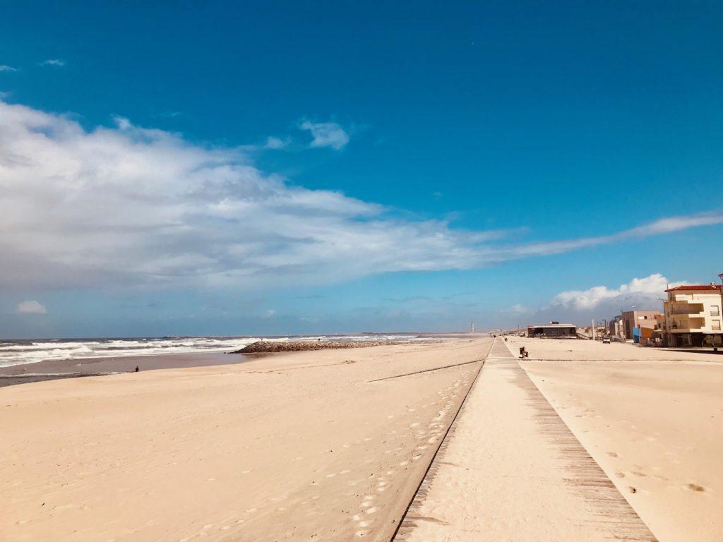 Strand bei Costa Nova.