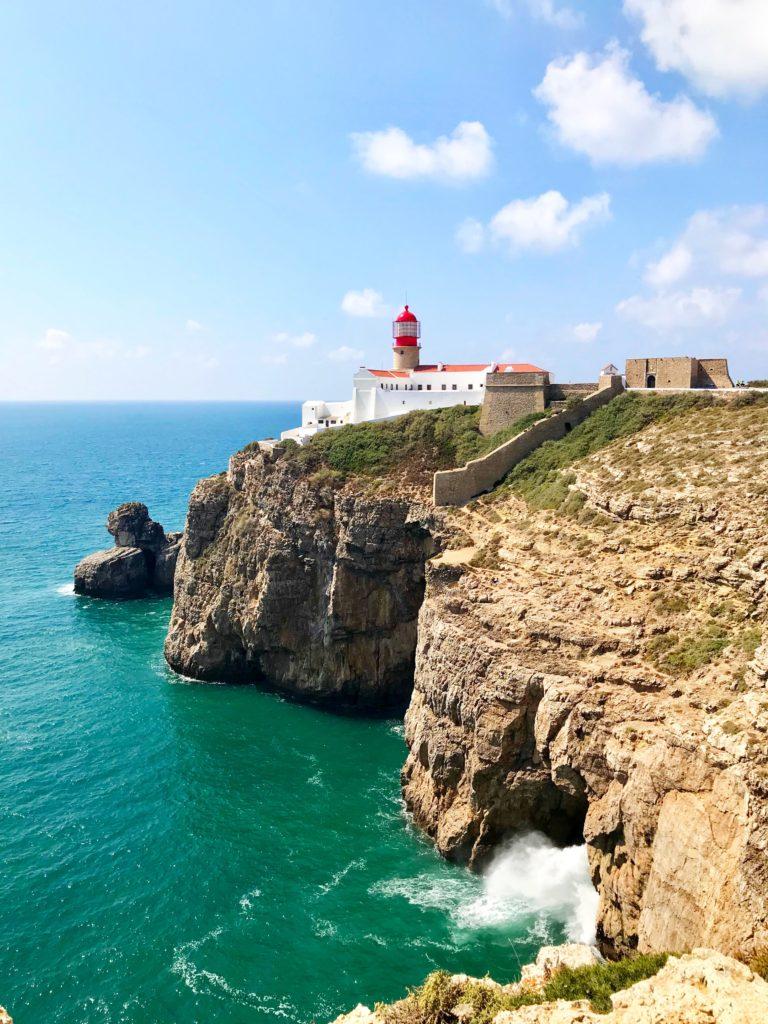 Portugal Küste: Am Leuchtturm Sao Vincente
