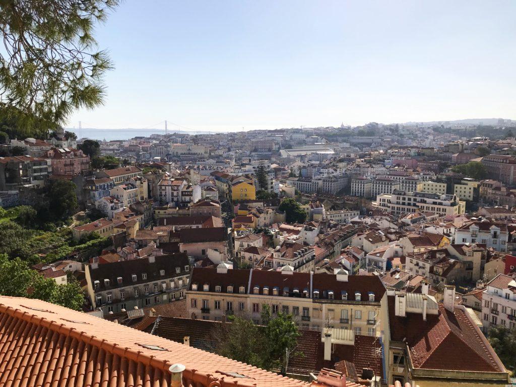 Portugal Lissabon Aussicht