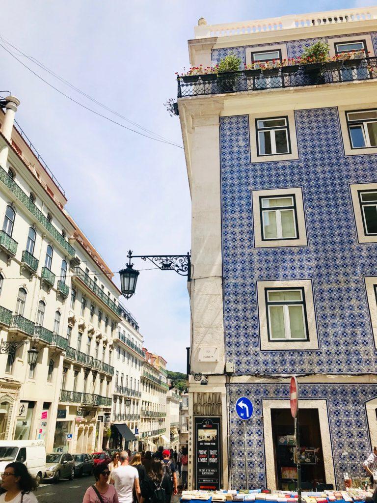 Portugal Lissabon Altstadt