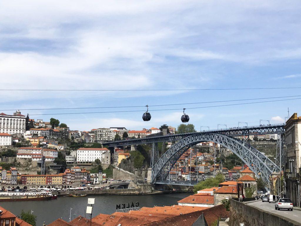 Porto Ponte Dom Luis Brücke