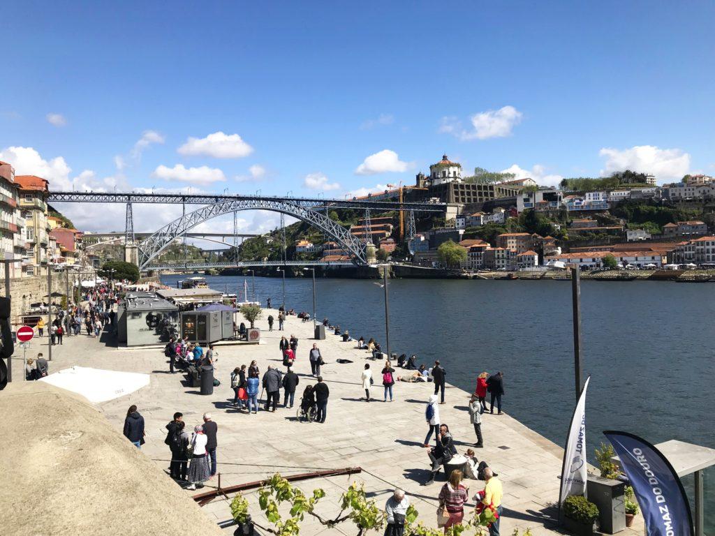 Flusspromenade in Porto