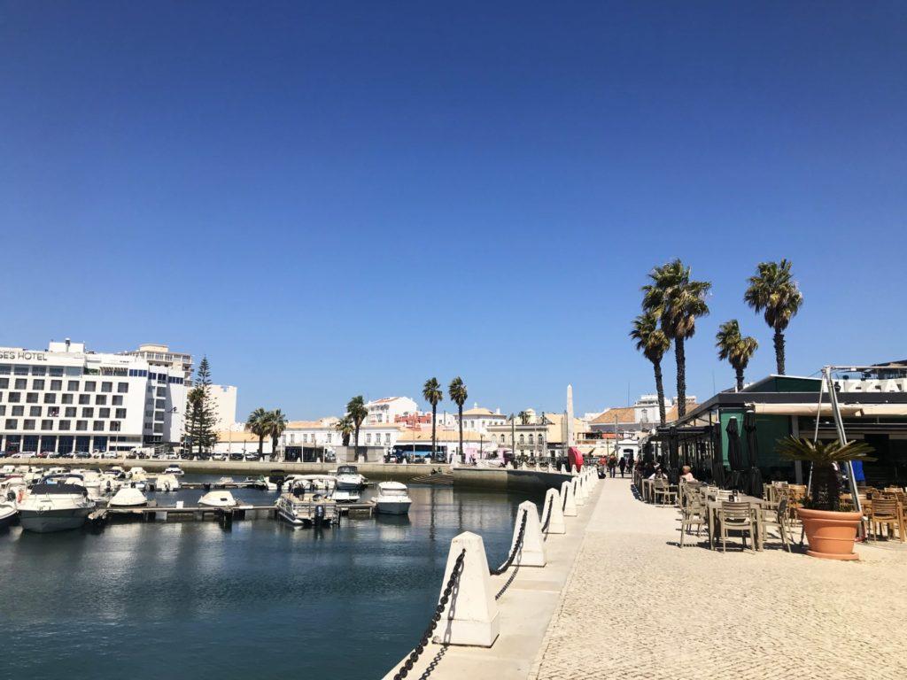 Portugal Faro Promenade