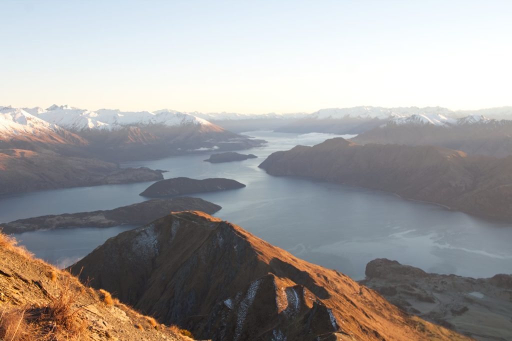 Neuseeland im Winter: Roys Peak