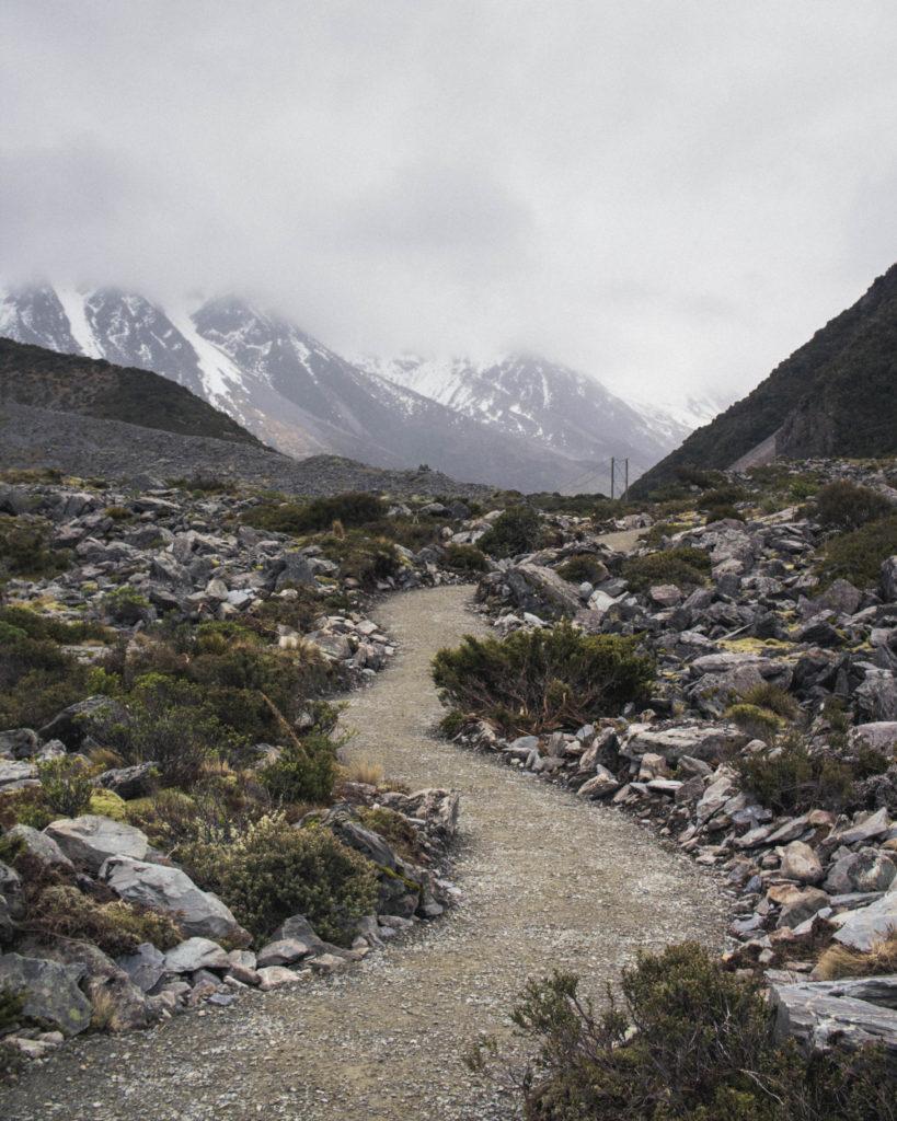 Neuseeland im Winter: Wandern