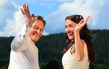 Michaela und Fritz von Haarbürste Test